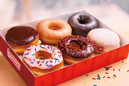 Dunkin' Donuts half dozen