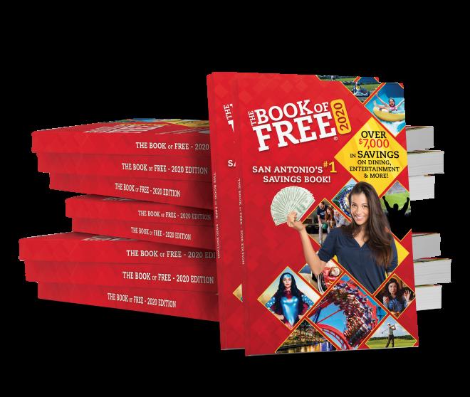 2020 Book of Free 10 book bundle
