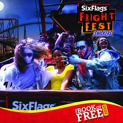 fright fest rollercoaster